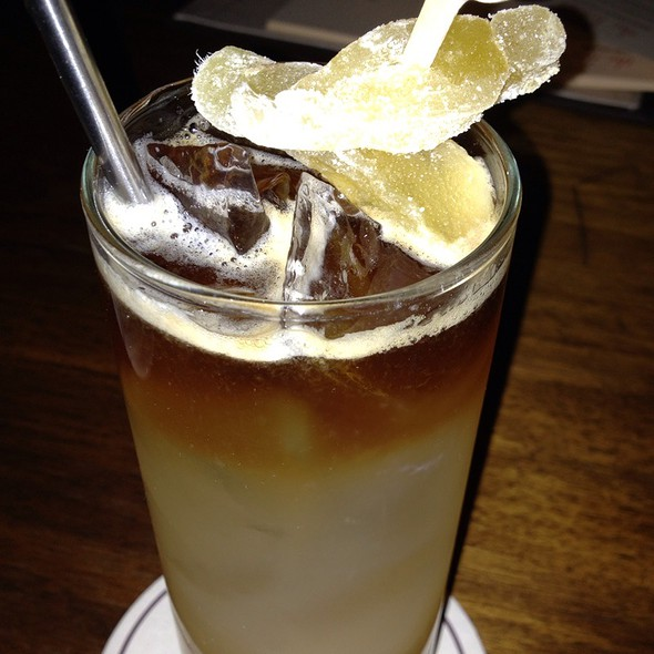 Dark and Stormy @ The Tower Bar : Sunset Tower Hotel