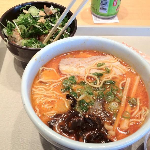 Spicy Miso Ramen @ Santouka Ramen