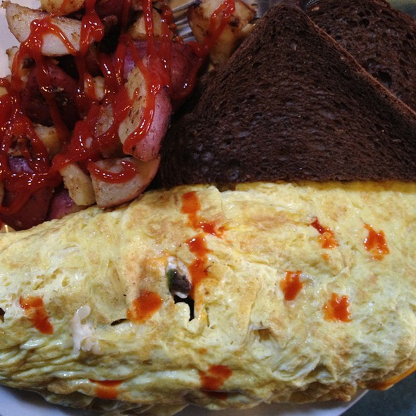 Build Your Own Omellette @ Flying Saucer Inc