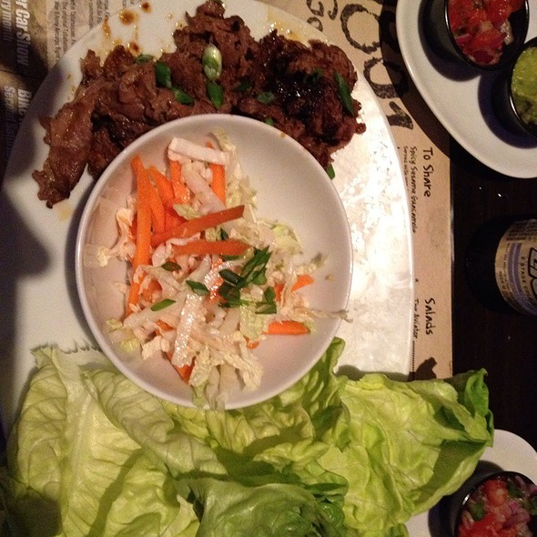Korean Bulgogi Beef Lettuce Wraps