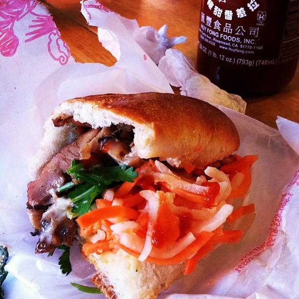 Vietnamese Sandwich @ Hanco's