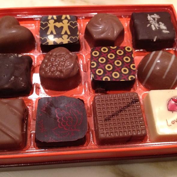 Chocolates @ Jacques Torres Chocolate