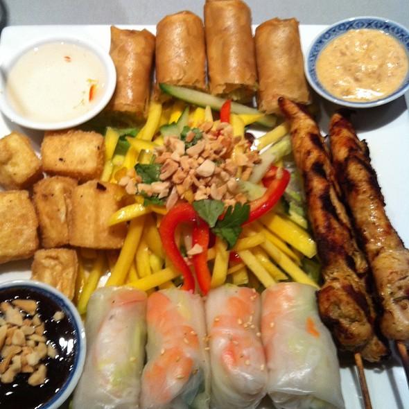 Mango Tasting Platter @ Mango Thai & Pan-Asian Cuisine