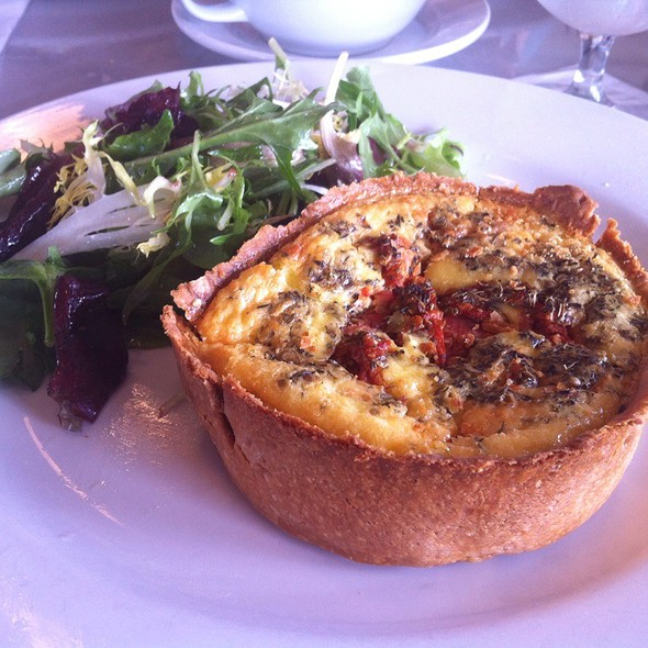 Roasted Tomato And Fontina Quiche @ Marche Artisan Foods