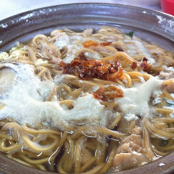 Claypot Yee Mee @ Big Tree Restaurant