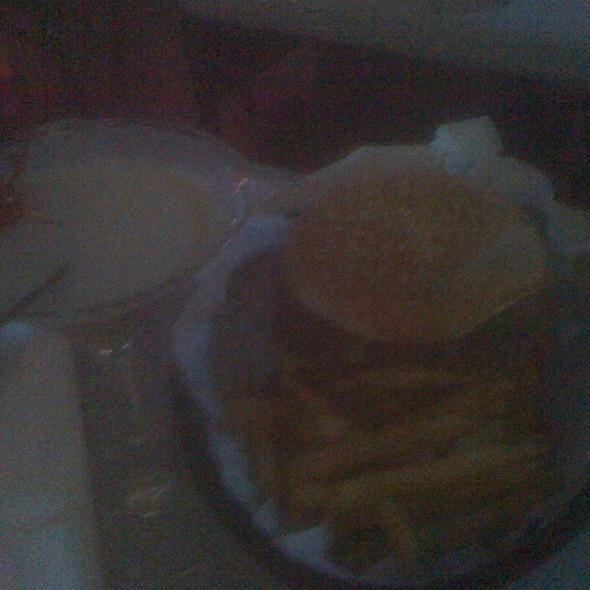 Pulled Pork Sandwich @ Big Boy's Bar & Grill On Spi
