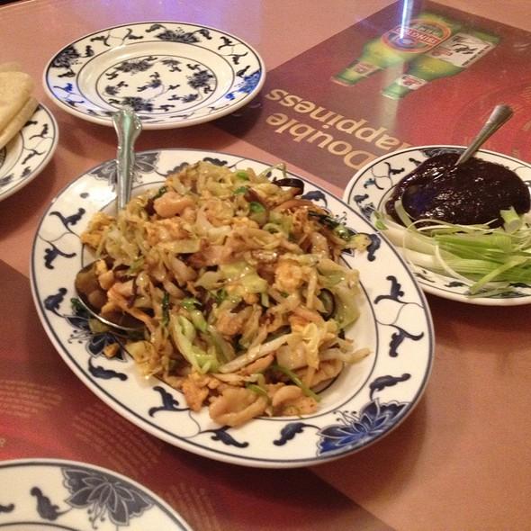 Mu Shu Chicken @ Hunan Home's Restaurant