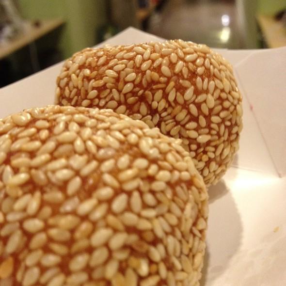 Sesame Balls @ Yank Sing Restaurant
