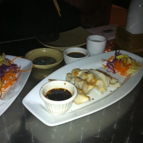 Seared Pork Dumpling @ Opium Restaurant