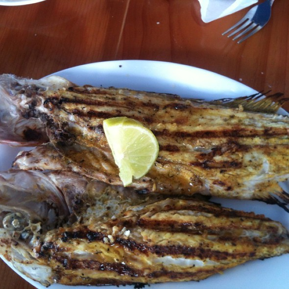Whole Snapper @ Garcia's Seafood Grille & Fish