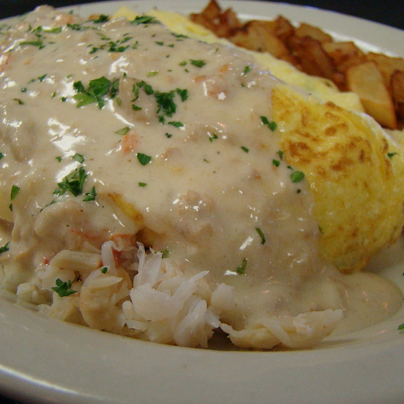 King Crab Omelet - Gulfstream Cafe