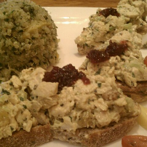 Chicken Salad @ Carmel Cafe & Wine Bar