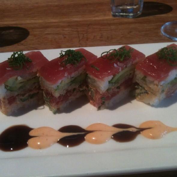 Osaka Tuna Pressed Sushi @ Hillstone