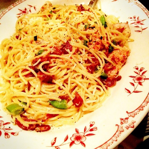 Chef Kb's Lobster Carbonara @ Maggiano's Little Italy