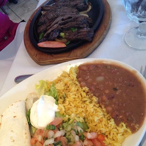 Steak Fajitas - Mariachi Restaurant, Frederick, MD