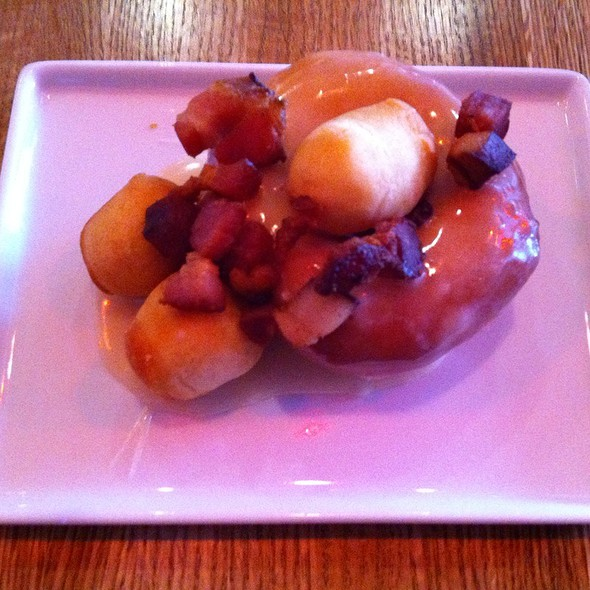 Maple Glazed Bacon Doughnut @ 2 Sparrows
