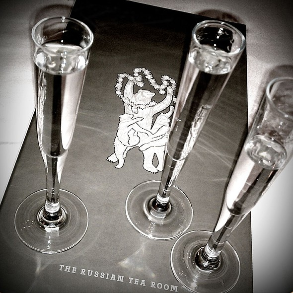 Russian Vodka Flight - Russian Tea Room - NYC, New York, NY