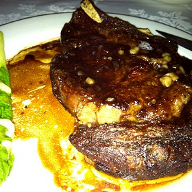 Ribsteak With Marrow Sauce