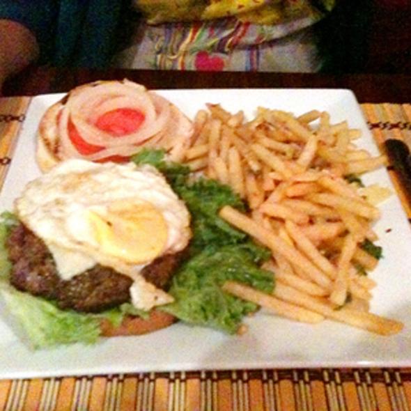 Adobo Burger Royale @ Kenkoy's Grill