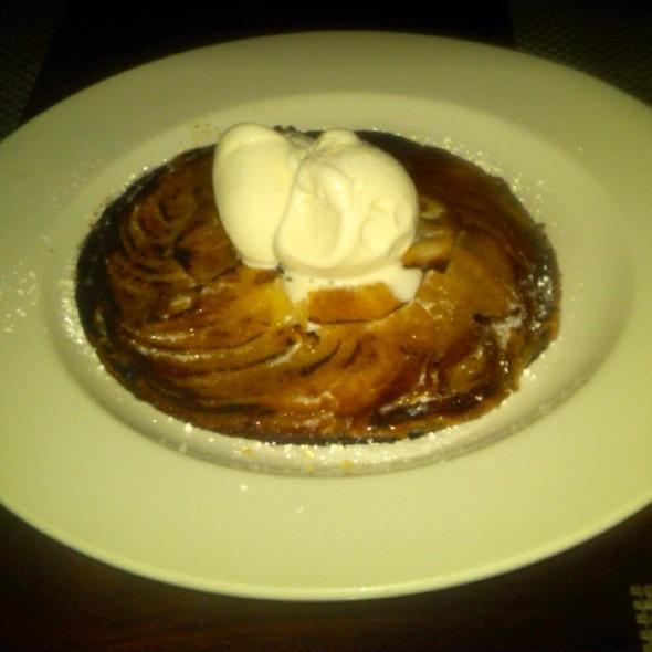 Apple tart @ George's