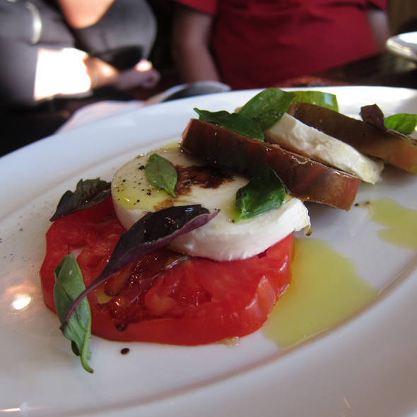 Caprese Salad @ ESTATE
