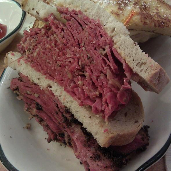 Reuben Sandwich @ Kenny & Ziggy's Deli