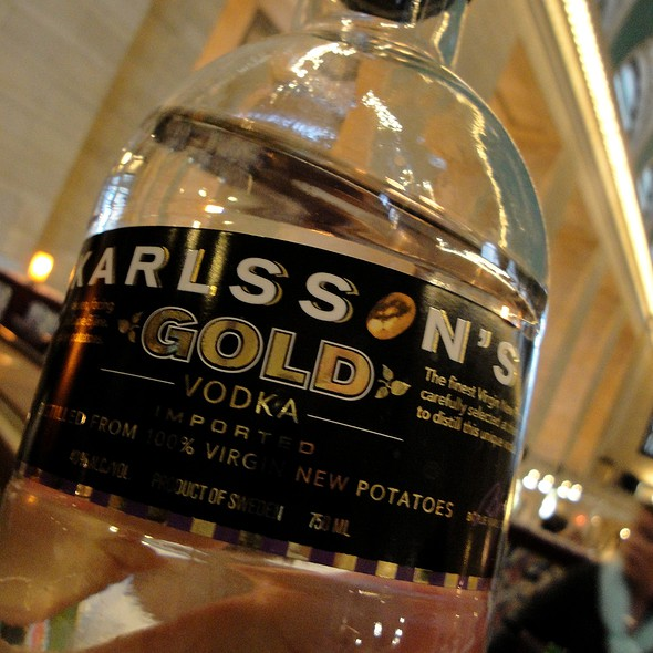 Karlsson's Gold Vodka - Michael Jordan's The Steak House N.Y.C., New York, NY