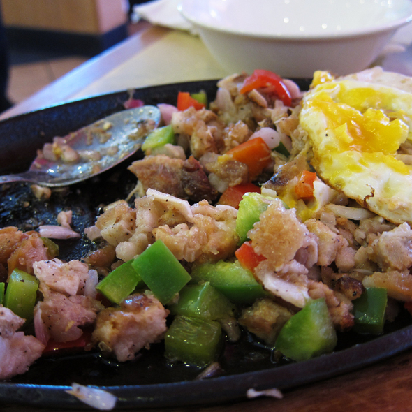 Sisig @ Goldilocks Bakeshop & Restaurant