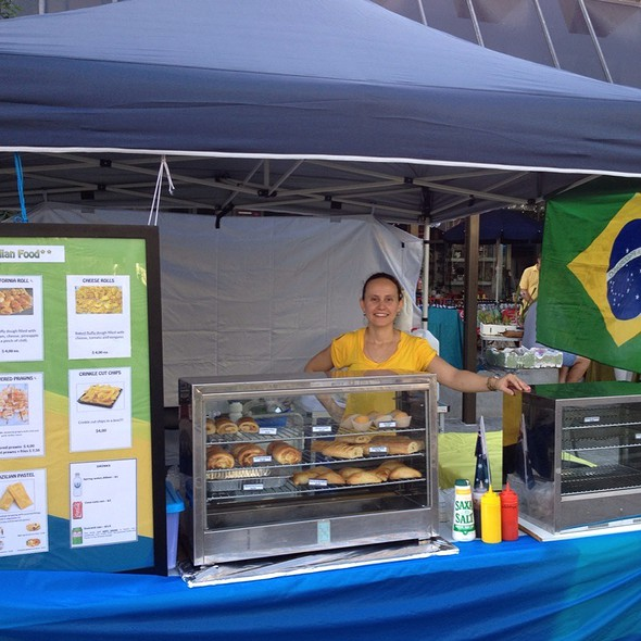 Typical Brazilian Food @ Cotters Markets