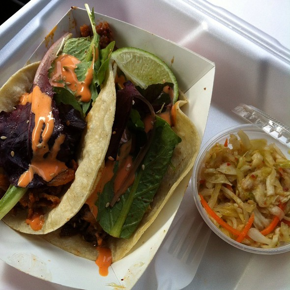 Spicy Pork Taco @ Seoul Taco