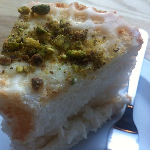 angel food cake @ One Girl Cookies
