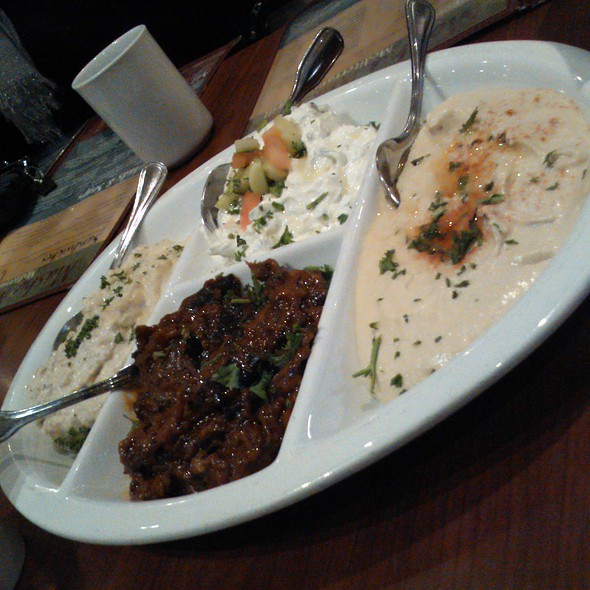 Cold Combo Appetizer @ Mashu Mashu Mediterranean Grill