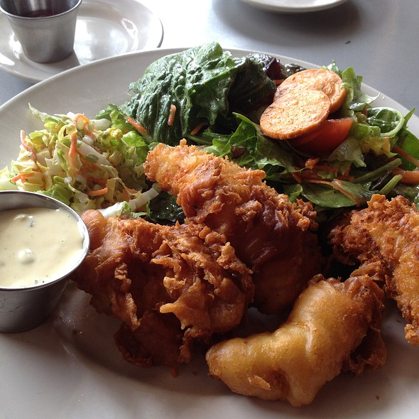 Fish and Chips @ The Eatery