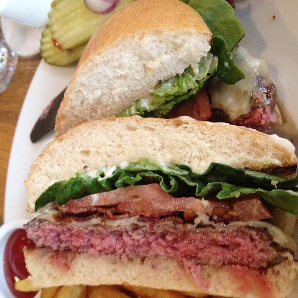 Bacon Cheeseburger @ Ella Dining Room & Bar
