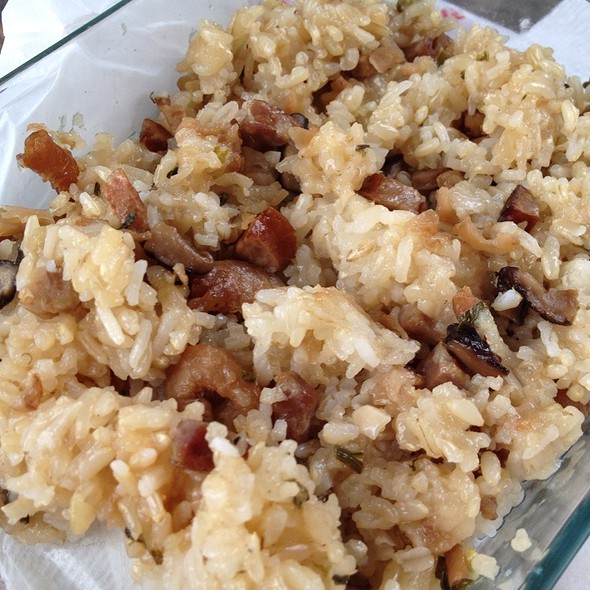 Sticky Fried Rice @ Home