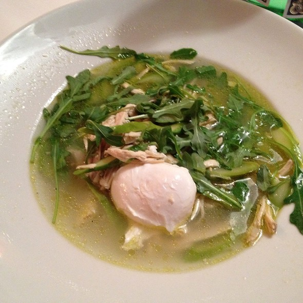 Chicken Soup @ Trattoria Dell'Arte