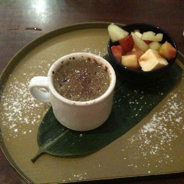 Green Tea Creme Brulee