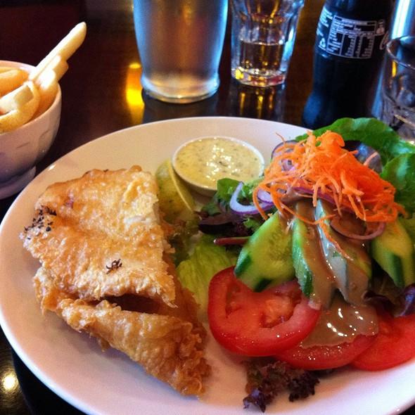 Battered Fish & Chips @ Fundamental Food Fresh Restaurant