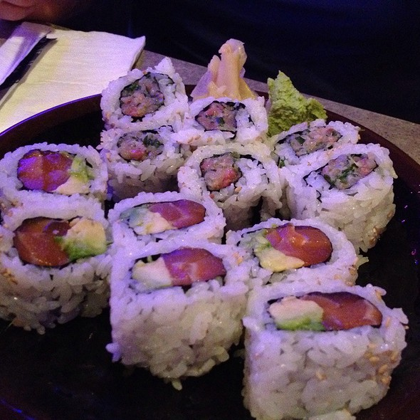 Salmon And Avocado Roll, Hamachi Roll @ Katana-ya