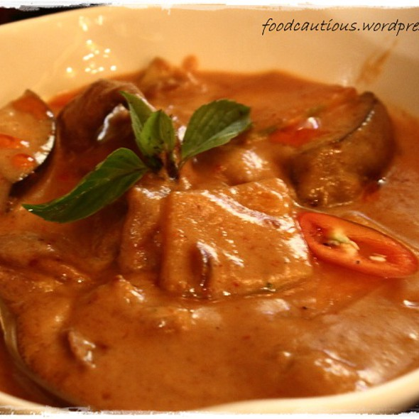 Red Curry with Beef @ Le Bangkok