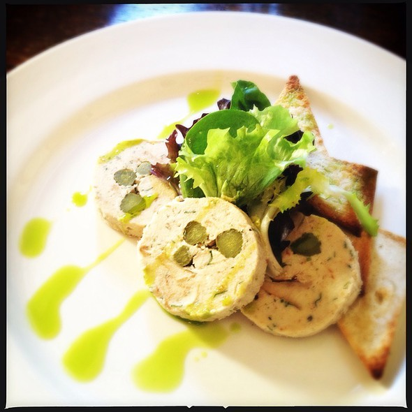 Mackerel Pate, Toast @ The Rosendale