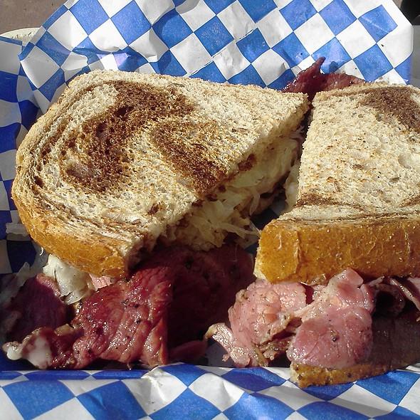Reuben Sandwich @ Coast to Coast Sandwiches