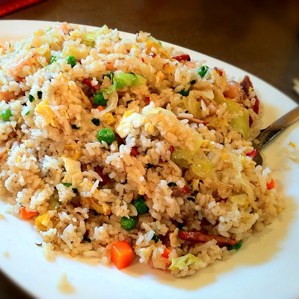 Combination Fried Rice @ First Chinese BBQ