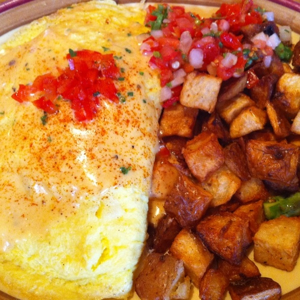Crab Asparagus Omelette - Peso's, Seattle, WA