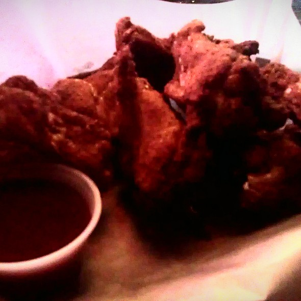 bbq wings @ Bombay Bicycle Club