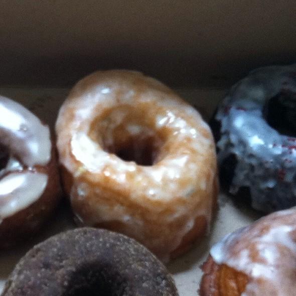 lemon pistachio doughnut @ Dynamo Donut & Coffee