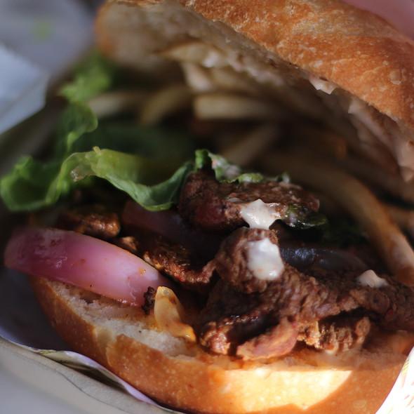 lomo saltado @ Sanguchon Peruvian Food Truck