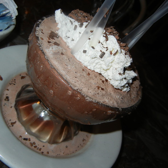 Frozen Hot Chocolate @ Serendipity 3