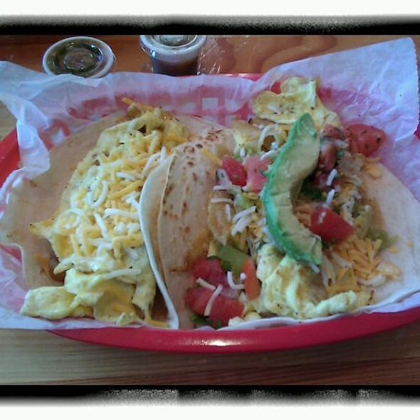 Migas & Potato and Egg Tacos
