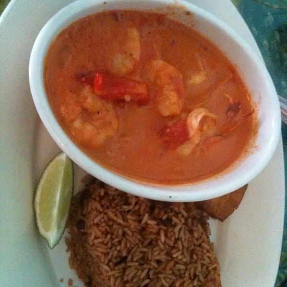 Shrimp In Coconut Sauce @ Tap Tap Haitian Restaurant